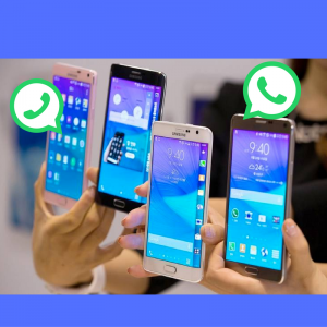 duas contas do WhatsApp no mesmo smartphone da Samsung