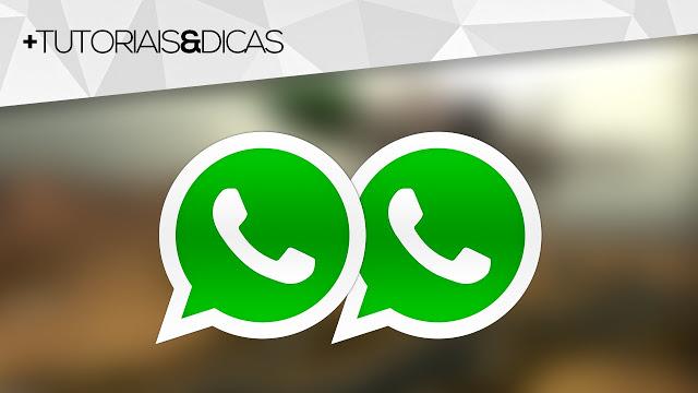 usar 2 WhatsApp no mesmo celular