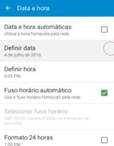 Resolvendo erro de data e hora do WhatsApp 1