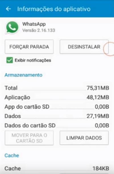 Resolvendo erro de data e hora do WhatsApp 6