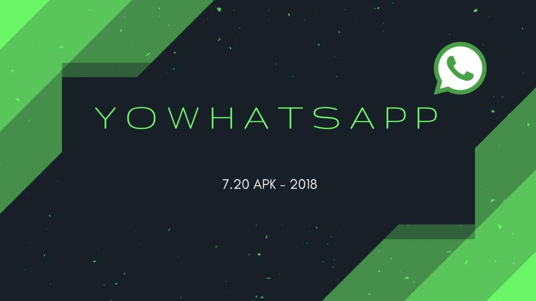 YoWhatsapp 7.20 APK 2018