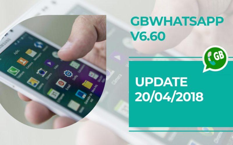 GBWhatsApp Plus update v6.60