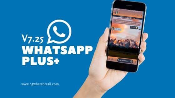WhatsApp Plus 2019 v7 25- Português com Stickers ou Adesivos