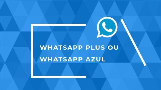 baixar o whatsapp azul