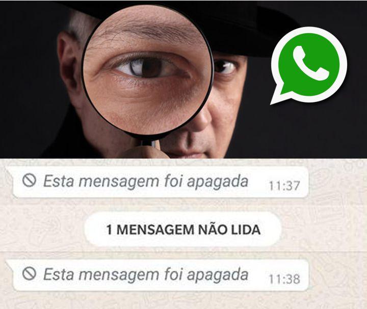visualizar mensagem apagada no whatsapp