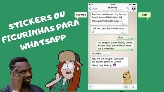 como criar stickers no whatsapp iphone