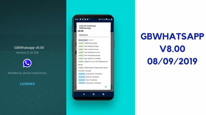 GBWhatsApp v8 00 – (Whatsapp GB) - Anti-Ban Funcionando