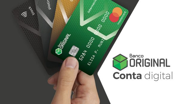 Conta digital - Banco Original